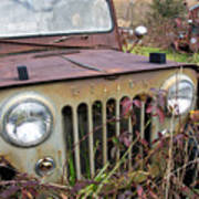 The Jeepster Art Print