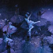 The Joffrey Ballet Dances The Art Print