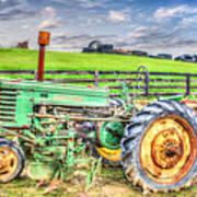 The John Deere Tractor Art Print