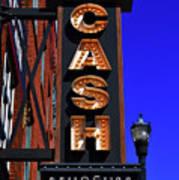 The Johnny Cash Museum - Nashville Art Print