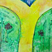 The Journey #56 I'm Walking On Sunshine Art Print