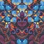 The Joy Of Design Mandala Series Puzzle 6 Arrangement 8 Art Print