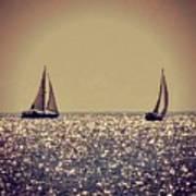 The Joy Of Sailing Art Print