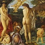 The Judgement Of Paris Art Print