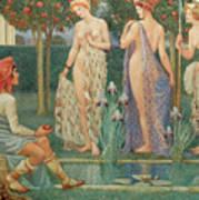 The Judgment Of Paris Art Print