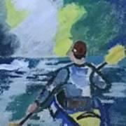 The Kayak Art Print