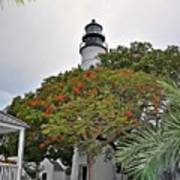 The Key West Lighthouse Art Print