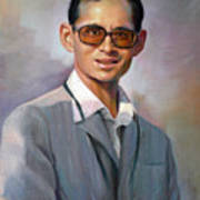 The King Bhumibol Art Print