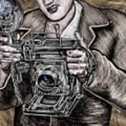 The King Of Cameras Art Print