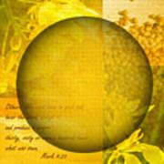 The Kingdom Of God Is Like A Mustard Seed Art Print