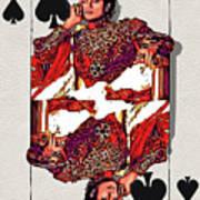 The Kings - Michael Jackson Art Print