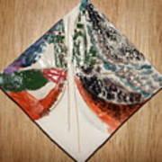 the Kiss 9 - tile Art Print