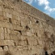 The Kotel - Western Wall In Jerusalem Art Print