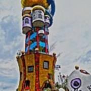 The Kuchlbauer Tower Art Print by Juergen Weiss