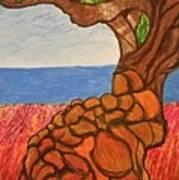 The Labor Day Hamptons Tree Art Print