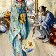 The Lady And Sada San Art Print