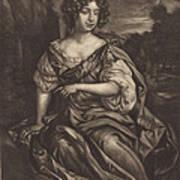 The Lady Essex Finch Art Print