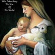 The Lamb Of God Art Print by Joyce Geleynse