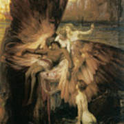 The Lament For Icarus  Art Print