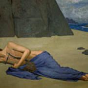 The Lamentation Of Orpheus Art Print