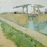 The Langlois Bridge Art Print