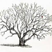 The Last Apple Art Print
