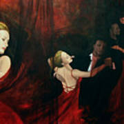 The Last Dance Print by Dorina  Costras