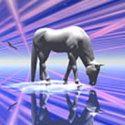 The Last Of The Unicorns 2 Art Print
