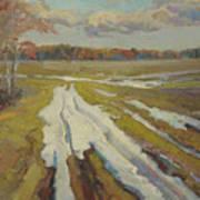 The Last Snow Art Print