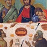 The Last Supper Fragment 1311 Art Print
