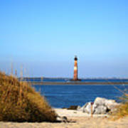 The Lighhouse At Morris Island Charleston Art Print
