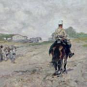 The Light Cavalryman Art Print