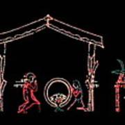 The Light Of Christmas Art Print