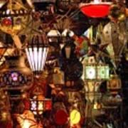 The Light Shop Marrakesh Art Print