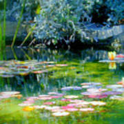 The Lily Pond I Art Print