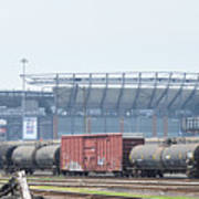 The Linc From The Other Side Of The Tracks Art Print