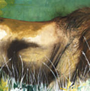 The Lion Print by Anthony Burks Sr