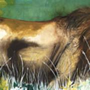The Lion Art Print by Anthony Burks Sr