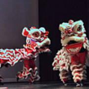 The Lion Dance Camarillo Kung Fu Club Art Print