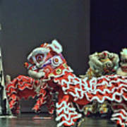 The Lion Dance Camarillo  Art Print