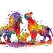 The Lion King Family Art Print