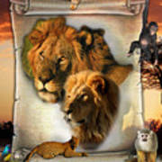 The Lion King From Africa Art Print