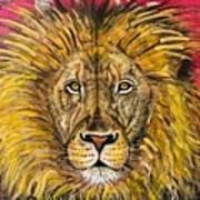 The Lions Selfie Art Print