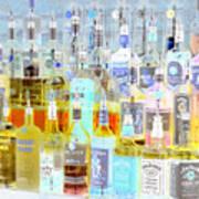 The Liquor Cabinet Art Print