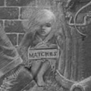 The Little Matchseller Art Print
