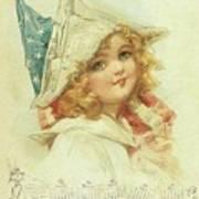 The Little Patriot Art Print