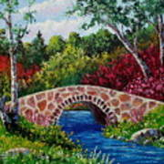 The Little Stone Bridge Art Print