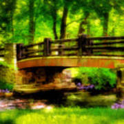 The Little Stone Bridge Art Print