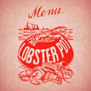 The Lobster Pot 1960s Art Print