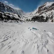 The Loch Under Snow Art Print
